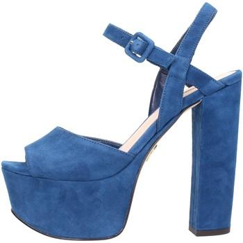Sandales Guess - Sandalo blue 100% camoscio FLDEN1SUE03
