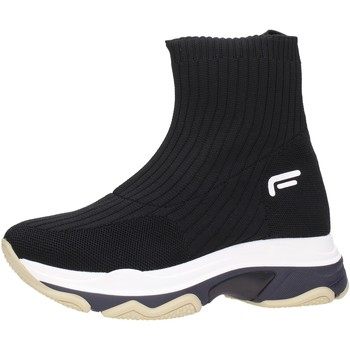 Chaussures Femme Boots Fornarina - Tronchetto black SUPER1 Multicolore