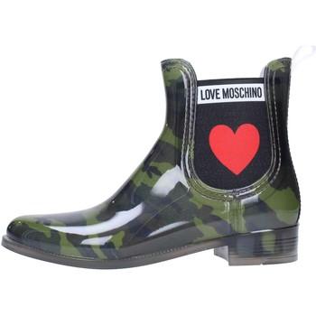 Chaussures Femme Bottes de pluie Love Moschino JA21013G06 Multicolore