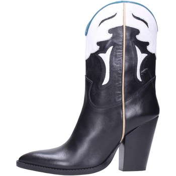 Bottines Tsakiris Mallas - Texano black 692