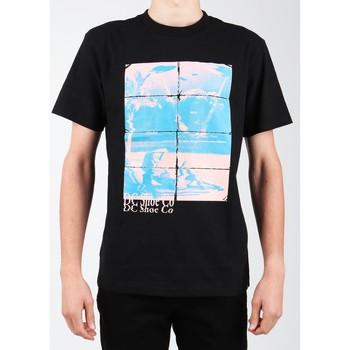Vêtements Homme T-shirts manches courtes DC Shoes DC EDYZT03746-KVJ0 czarny