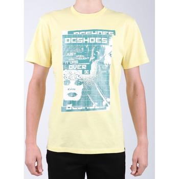 Vêtements Homme T-shirts manches courtes DC Shoes DC SEDYZT03769-YZL0 żółty