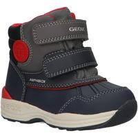 Chaussures Garçon Bottes de neige Geox B841GA 054FU B N GULP Azul
