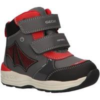Chaussures Garçon Bottes de neige Geox B841GC 054FU B N GULP Gris