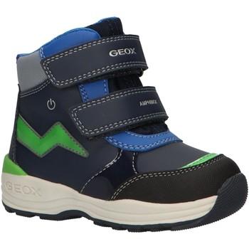 Chaussures Garçon Bottes de neige Geox B841GC 054FU B N GULP Azul
