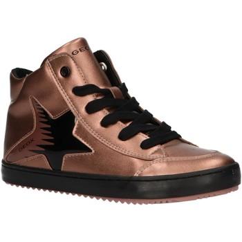 Chaussures Fille Baskets montantes Geox J844GB 000NF J KALISPERA Rosa