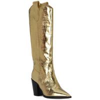 Chaussures Femme Bottes ville Priv Lab COCCO ORO Beige