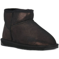 Chaussures Femme Bottines EMU STINGER MINI CHESTNUT Nero