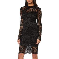 Vêtements Femme Robes courtes Guess robe femme en dentelle Fabiana noir W94K91 38