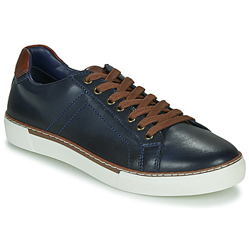 Chaussures Homme Baskets basses André SHANN Marine