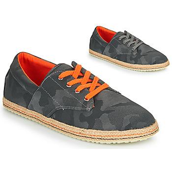 Chaussures Homme Espadrilles André LIANE Gris
