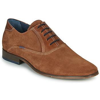 Chaussures Homme Richelieu André WALACE Cognac