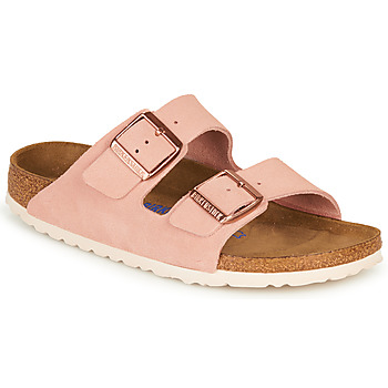 Chaussures Femme Mules Birkenstock ARIZONA SFB LEATHER Rose