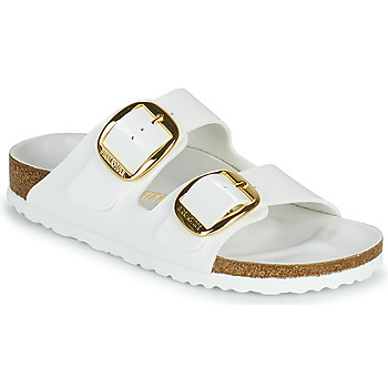 Chaussures Femme Mules Birkenstock ARIZONA BIG BUCKLE Blanc / Doré