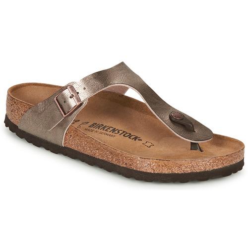 Chaussures Femme Tongs Birkenstock GIZEH Bronze