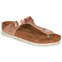 Chaussures Femme Tongs Birkenstock GIZEH Rose / Doré
