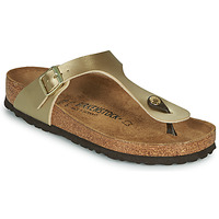 Chaussures Femme Tongs Birkenstock GIZEH Gold (Or)