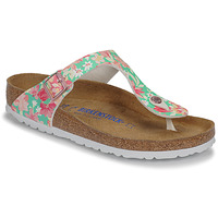 Chaussures Femme Tongs Birkenstock GIZEH SFB Supernatural Flower Emerald