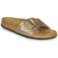 Chaussures Femme Mules Birkenstock MADRID BIG BUKL Graceful Taupe (Bronze)