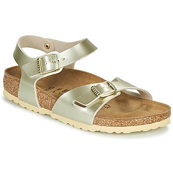Chaussures Fille Sandales et Nu-pieds Birkenstock RIO Doré