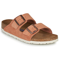 Chaussures Femme Mules Birkenstock ARIZONA SFB LEATHER Rouille