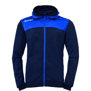 Vêtements Homme Vestes de survêtement Kempa Veste à capuche  Homme Emotion 2.0 bleu/jaune