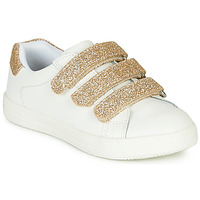Chaussures Fille Baskets basses André TRACIE Blanc