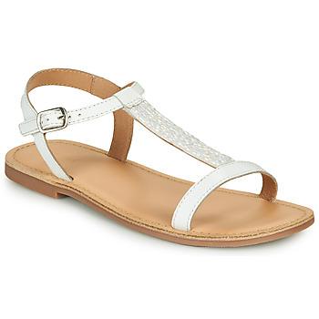 Chaussures Fille Sandales et Nu-pieds André ASTRID Blanc