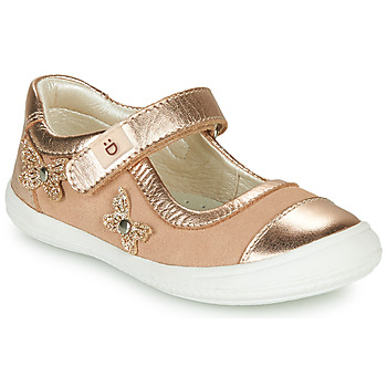 Chaussures Fille Ballerines / babies André ORIANNE Rose