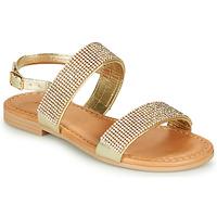 Chaussures Fille Sandales et Nu-pieds André DORIANNE Or