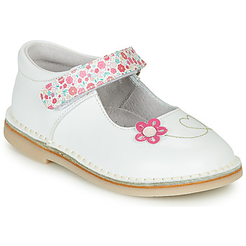 Chaussures Fille Ballerines / babies André ISABELLA Blanc