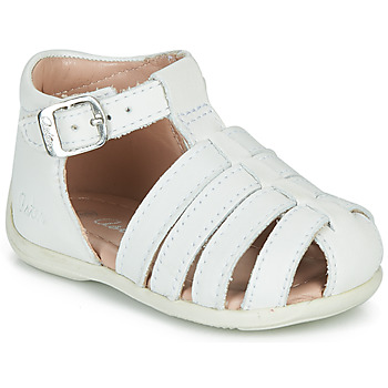 Chaussures Fille Sandales et Nu-pieds Aster OFILIE Blanc