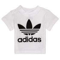 Vêtements Enfant T-shirts manches courtes adidas Originals MAELYS Blanc