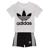 Vêtements Garçon Ensembles enfant adidas Originals CAROLINE Blanc / Noir