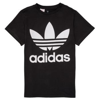 Vêtements Enfant T-shirts manches courtes adidas Originals MAXENCE Noir