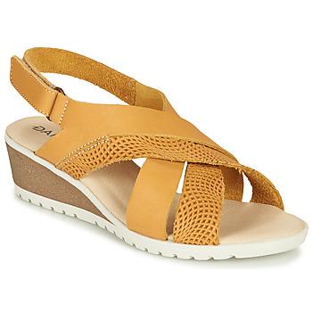 Chaussures Femme Sandales et Nu-pieds Damart MAYLO Jaune