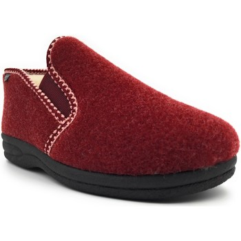 Chaussures Femme Chaussons Fargeot ISSOUDUN Rouge