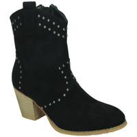 Chaussures Femme Bottines Flyfor  Noir