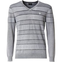 Vêtements Homme Pulls Guess Pull Homme Rayures Homme M83R30 FRANKLIN SWTR Gris (rft)