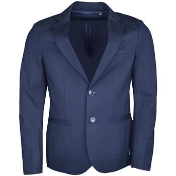 Veste Armani Blazer Exchange bleu marine ajusté pour homme