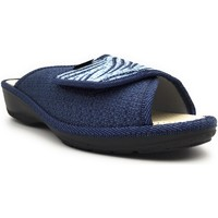 Chaussures Femme Chaussons Fargeot PALOMA Bleu