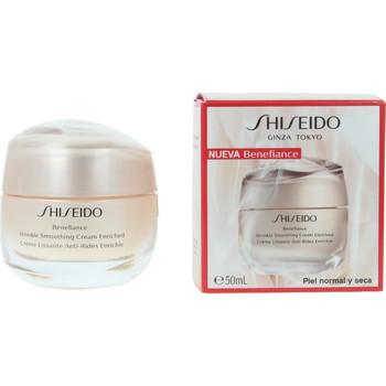 Beauté Femme Anti-Age & Anti-rides Shiseido Benefiance Wrinkle Smoothing Cream Enriched  50 ml