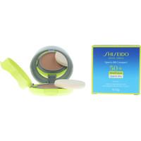 Beauté Fonds de teint & Bases Shiseido Sun Care Sport Bb Compact Spf50+ medium 12 Gr