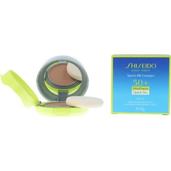 Beauté Fonds de teint & Bases Shiseido Sun Care Sport Bb Compact Spf50+ medium 12 Gr 12 g