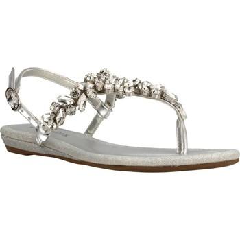Chaussures Femme Sandales et Nu-pieds Café Noir INFRADITO Argent