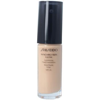 Beauté Femme Fonds de teint & Bases Shiseido Synchro Skin Glow Luminizing Fluid Foundation n3 30 ml