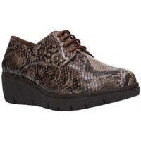 Chaussures Femme Derbies Calmoda 9579 NS Mujer Camel marron