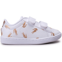 Chaussures Enfant Baskets basses Lacoste Carnaby Evo heOr Bébé Blanc