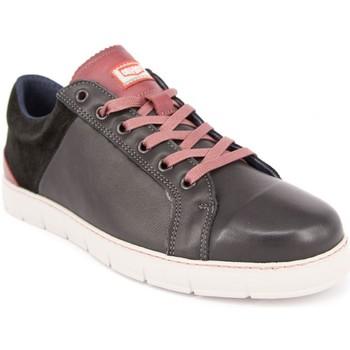 Chaussures Homme Baskets basses On Foot 11801 PIEL NEGRA Bluchers