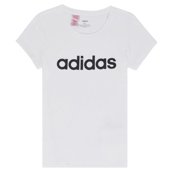 Vêtements Fille T-shirts manches courtes adidas Performance NELIZO Blanc